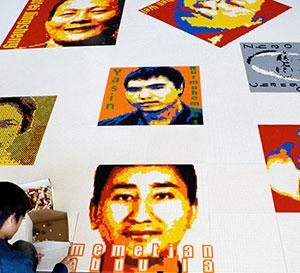 Ai-Weiwei-LEGO-Alcatraz-portraits-2