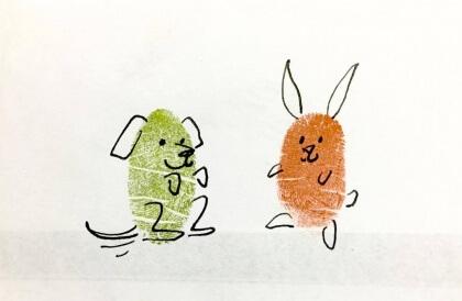 thumbprint doodle