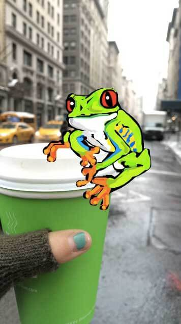 frog-on-cup-snapchat