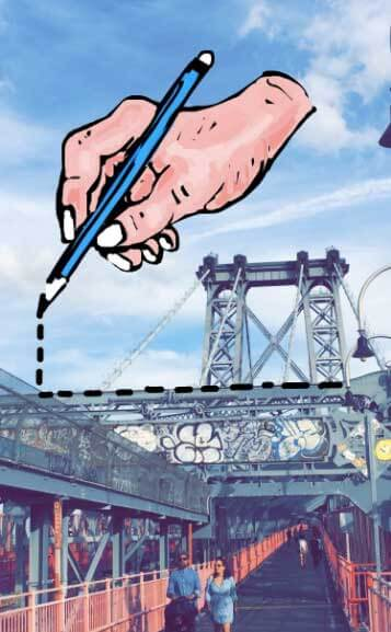 hand-new-york-bridge-snapchat