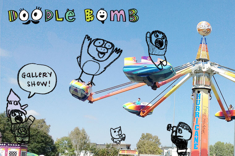 Doodle Bomb Show | Kid Can Doodle
