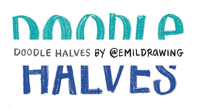 doodle halves header