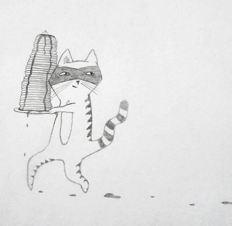 cat burglar pancakes