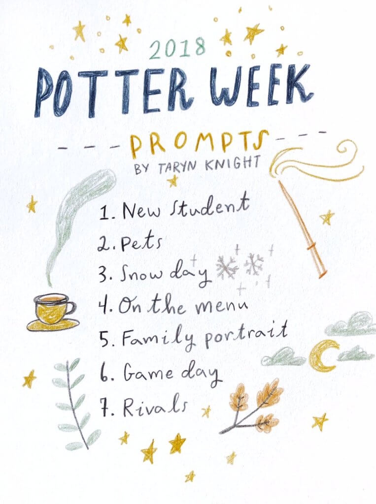 Potter Week drawing