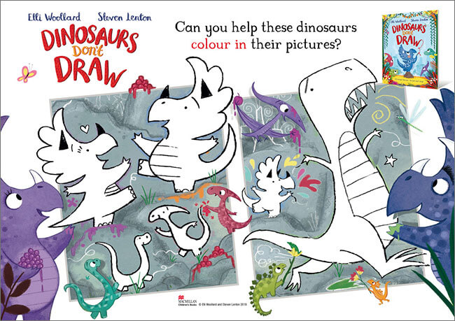 Dinosaurs Don't Draw download1